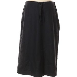 Banana Republic Black Wool Skirt Size 4